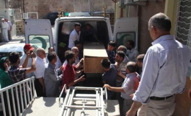 Pyd'linin Cenazesi Şanlıurfa'ya Getirildi