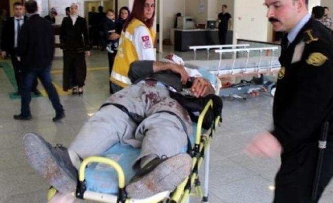 Şanlıurfa-Diyarbakır Karayolunda Kaza