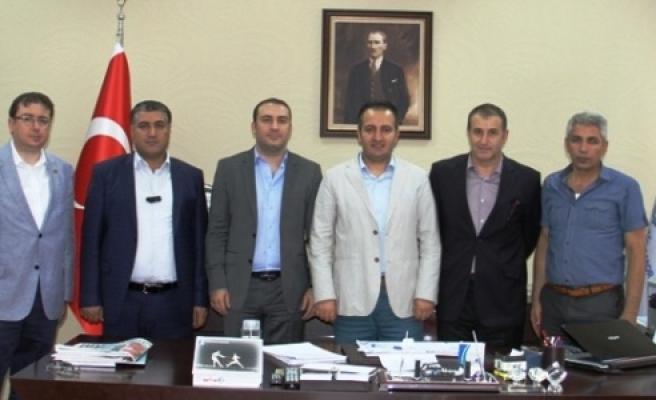 Şanlıurfaspor'dan teşekkür ziyareti