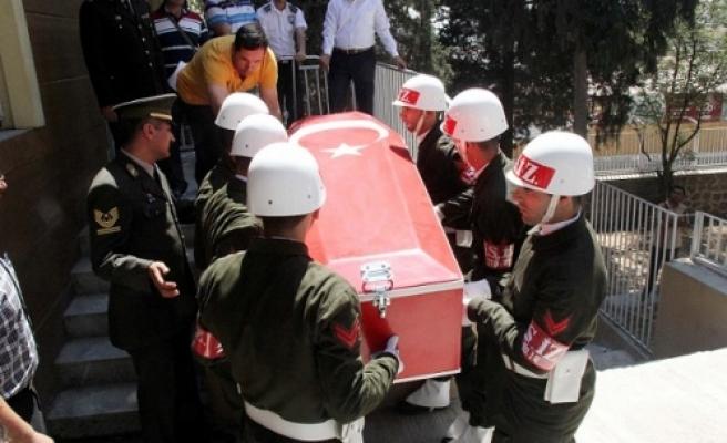 Şehit asker İstanbul'a gönderildi