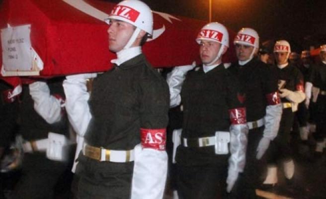Şehit askerler uğurlandı!