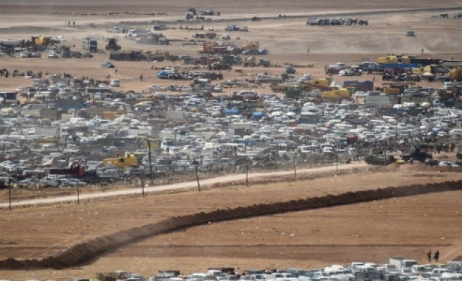 Suriye plakalı araçlar tahliye edildi