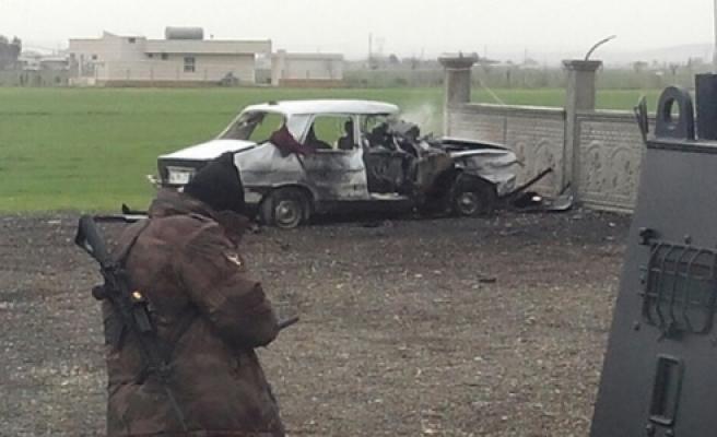 Suruç'ta polis noktasına bombalı saldırı düzenlendi
