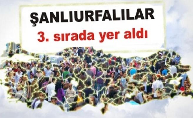 Türkiye'nin hemşeri haritası çıkarıldı