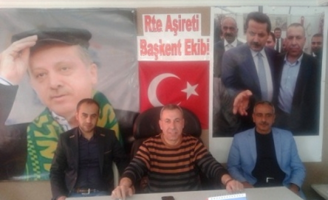 Urfa'da RTE Aşireti açıldı