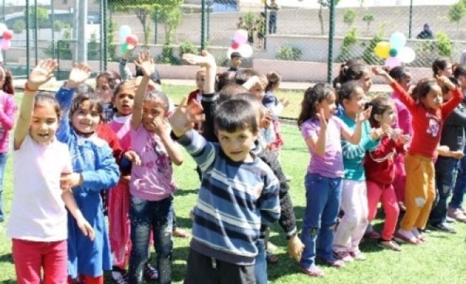 Urfa'lı minikler unutulmaz bir gün yaşadı