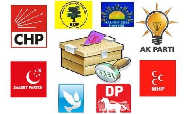 Urfa'nın ilçe adayları belli oldu