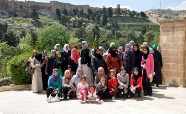 Urfa'yı gezdiler
