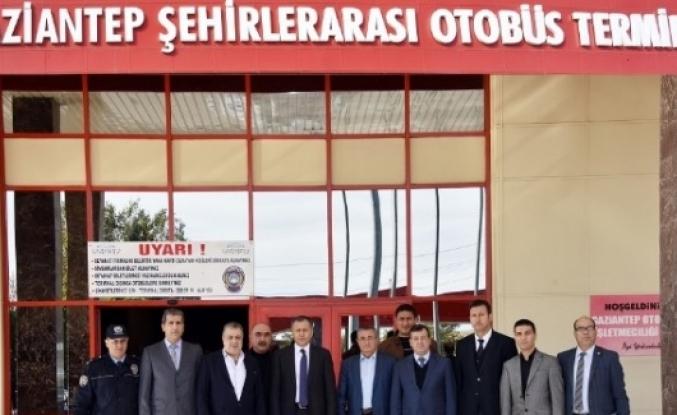 Gaziantep Valisi Otogar A.ş. Yönetim Kurulu'na İade Ziyarette Bulundu