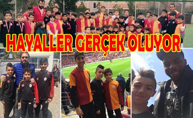 Urfa'dan Galatasaray'a futbolcu yetiştiriyorlar...