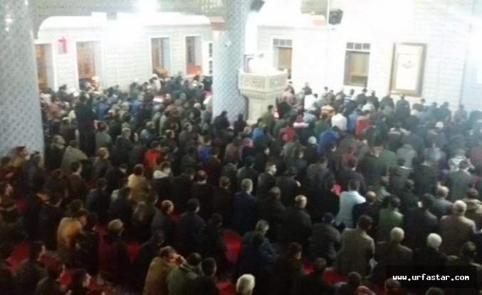 Vatandaşlar  Camilere akın etti...