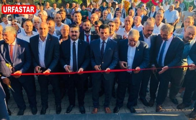 Urfa'da açıldı...