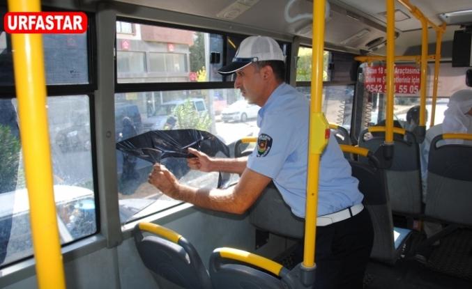 Şehiriçi otobüsler denetlendi
