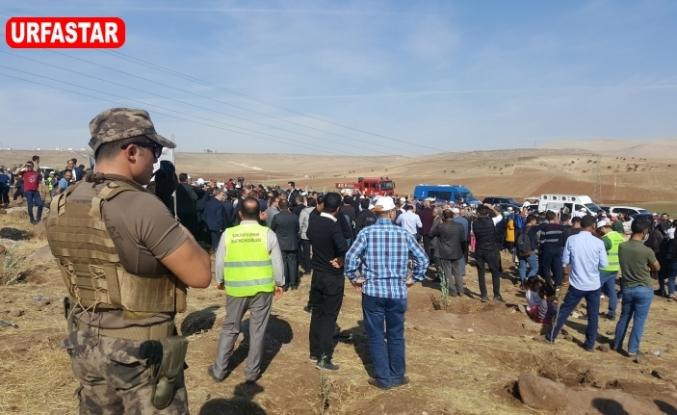 Urfa'da yoğun katılım var