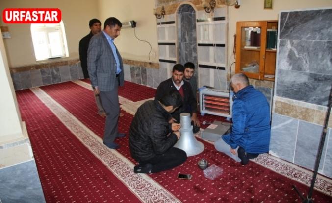 Harran Belediyesi camilere el attı