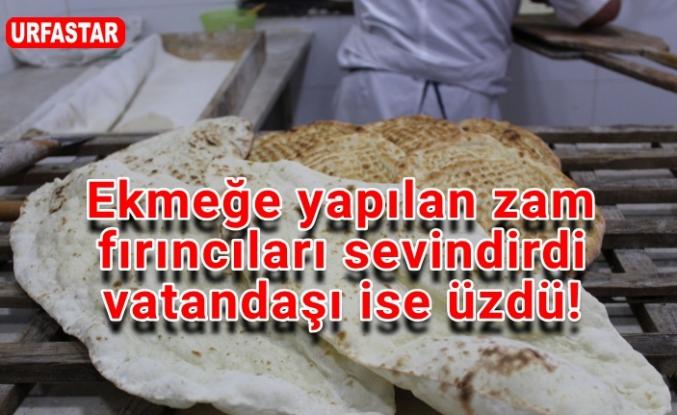 Urfa'da ekmek zammına tepki