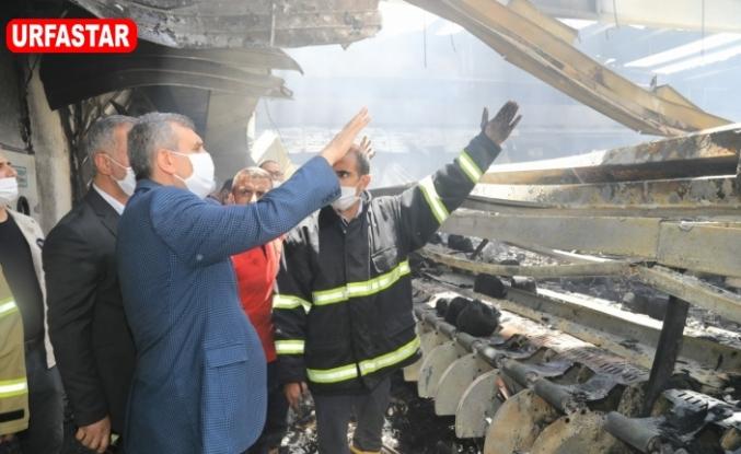 Urfa'da bir fabrika yok oldu