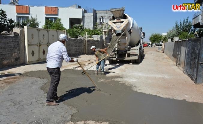 Siverek'te yollar onarılıyor