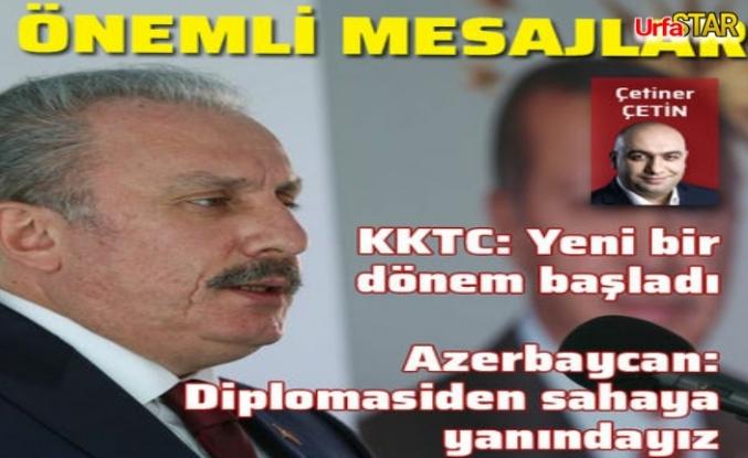 Şentop Çetin'in sorularına cevap verdi...