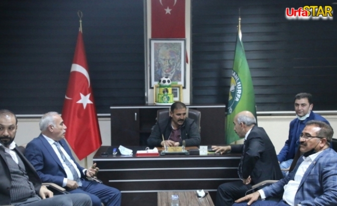 Aydınlık ve CHP İl Teşkilatı'ndan Urfaspor'a ziyaret