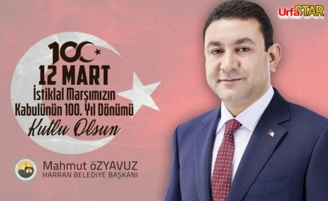 Özyavuz, 'Mehmet Akif Ersoy'u rahmet ve özlemle anıyorum'
