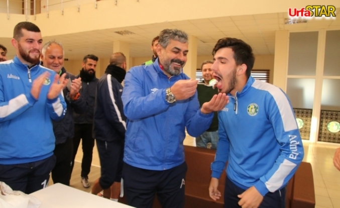 Urfaspor da doğum günü sürprizi