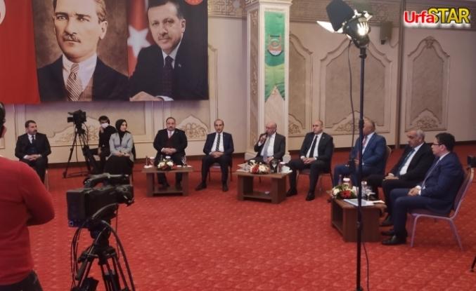 Başkanlar ortak yayında buluştular