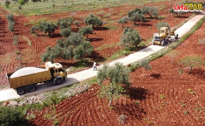 Büyükşehir Halfeti kırsalında çalışmalarını sürdürüyor