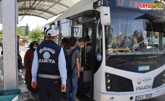 Urfa BŞB zabıta ekipleri denetimlerini arttırdı