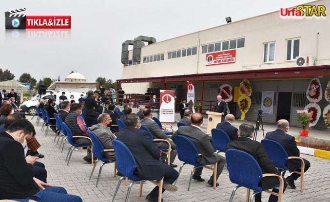 Urfa'da Hayvan Hastanesi açıldı