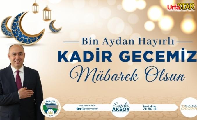 Aksoy'dan kutlama...