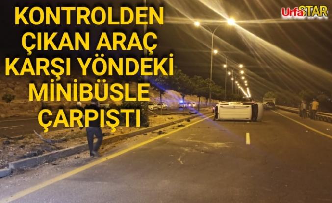 Eyyübiye çevre yolunda feci kaza! 9 yaralı
