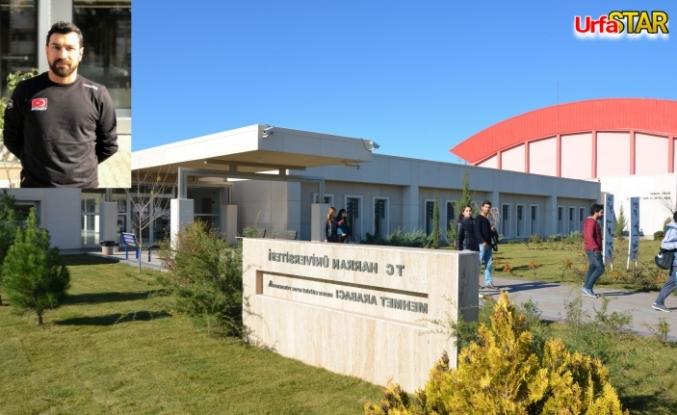 Harran Üniversitesi evde faaliyet için start verdi