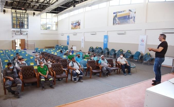 Hilvan Belediyesi personelleri için iş sağlığı semineri düzenlendi