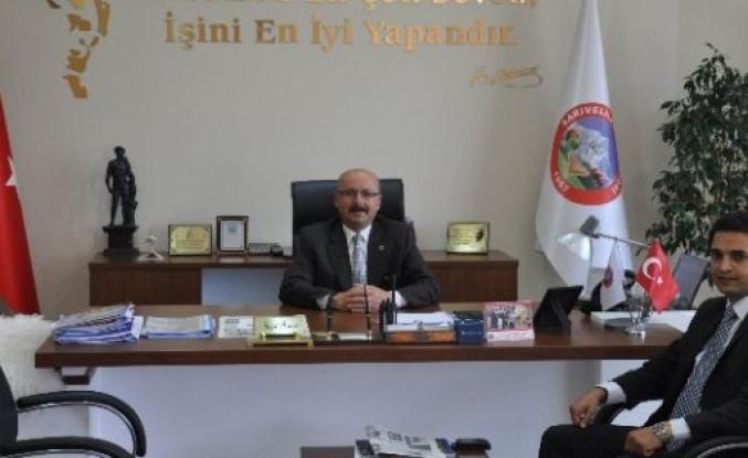 Kaymakam Vekili Murat'tan Başkan Samur'a Ziyaret