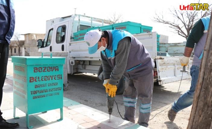 Bozova'da ekmekler çöpe değil hayvanlara gidiyor