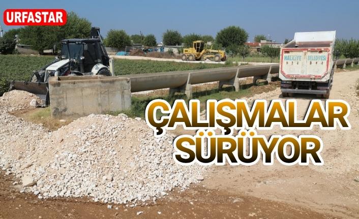 Haliliye Belediyesi kırsala yatırıma devam ediyor...