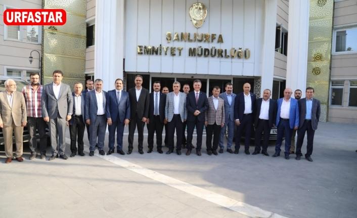 Başkanlar Müdür Doğuş'u ziyaret ettiler