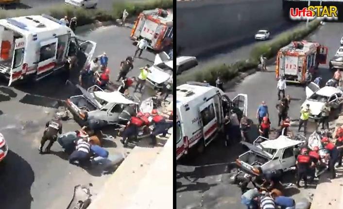 Abide Kavşağında korkunç kaza...
