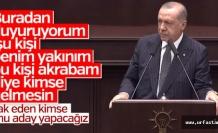 Erdoğan Urfa'yı mı işaret etti?