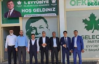 Gelecek Partisi Eyyübiye Başkanı belli oldu