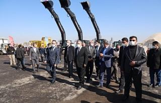 Büyükşehir 56 yeni araç ile filosunu güçlendirdi
