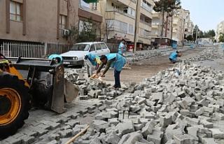 Haliliye'de 5 ayrı mahallede çalışmalar devam...