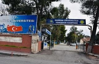 Harran Üniversitesi'nde flaş gelişme!