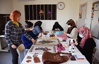 Hilvan'da kadınlar meslek ediniyor