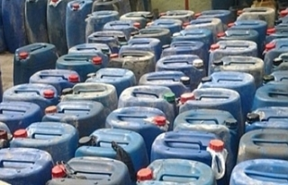 Urfa'da 12 bin 800 litre kaçak yakıt ele geçirildi