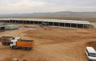 Urfa'da, Modern borsada çalışmalar sürüyor