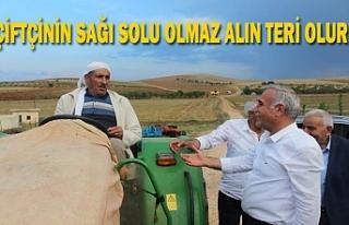 Vekil Aydınlık'tan çiftçileri destekleyen...