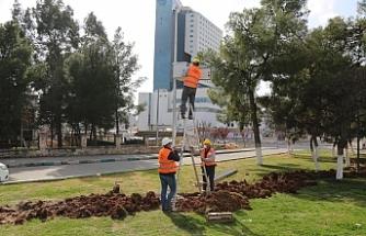 Haliliye'de güvenli park projesi devam ediyor