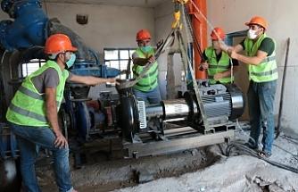 Urfa Büyükşehir kesintisiz su için çalışıyor